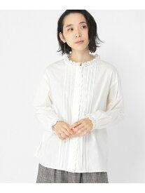 [Rakuten Fashion]エリスカラップBL studio CLIP スタディオクリップ シャツ/ブラウス 長袖シャツ ホワイト ブラック ベージュ【送料無料】