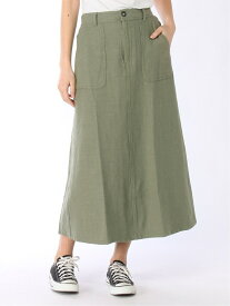 [Rakuten Fashion]【SALE/50%OFF】CLヘリンボンスカート studio CLIP スタディオクリップ スカート フレアスカート カーキ ベージュ【RBA_E】