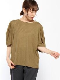 [Rakuten Fashion]【SALE/30%OFF】ヘンケイSLCNPO studio CLIP スタディオクリップ カットソー Tシャツ ベージュ ブラック レッド【RBA_E】
