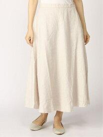 【SALE/50%OFF】キモウフレアロングSK studio CLIP スタディオクリップ スカート ロングスカート ベージュ ブルー【RBA_E】[Rakuten Fashion]