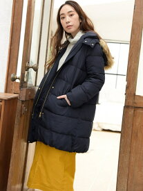 [Rakuten Fashion]【SALE/70%OFF】AIRCONファー中綿ロングコート studio CLIP スタディオクリップ コート/ジャケット ロングコート ネイビー ブラウン ベージュ【RBA_E】【送料無料】