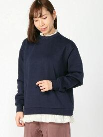 [Rakuten Fashion]【SALE/30%OFF】カラミドッキングキモウPO studio CLIP スタディオクリップ カットソー スウェット ネイビー ブラック ベージュ レッド【RBA_E】