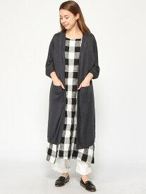 [Rakuten Fashion]12GL100キナガシLCD studio CLIP スタディオクリップ ニット カーディガン ネイビー ブラウン ベージュ