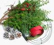 【生花】【リース】【クリスマス】クリスマスリースキット