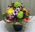 お正月の和風花束アレンジメント【生花花束】アレンジフラワーギフト花の贈り物