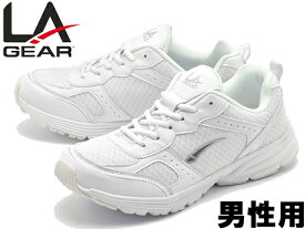 LAギア LA-012 男性用 LA GEAR LA012 メンズ スニーカー ホワイト (01-12680121)