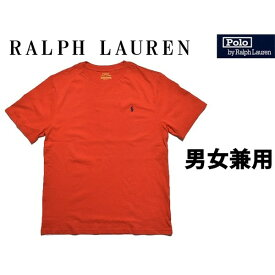 ポロ ラルフローレン ワンポイント クルーネック 男性用兼女性用 POLO RALPH LAUREN OP CREW NECK TEE 323-674984 323-703638 メンズ レディース 半袖 Tシャツ レッド (01-21231325)