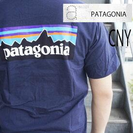 【送料無料】PATAGONIA 38504 パタゴニア パタ アウトドア Tシャツ カットソー 半袖 ストリート ギフトオーガニック LOGO RESPONSIBILI-TEE SPRB SUPERIOR