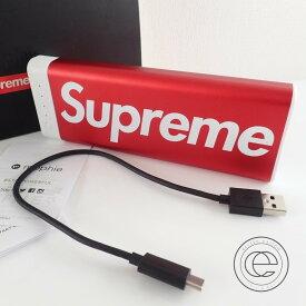 【Supremeシュプリーム】 Mophieモーフィー別注 encore 20k モバイルバッテリー レッド【中古】