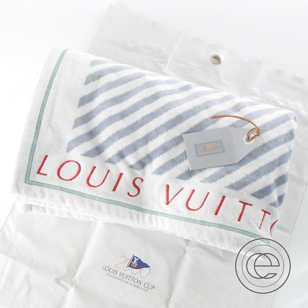LOUIS VUITTON【ルイ・ヴィトン】 ルイヴィトンカップ2000 ビーチタオル/ブランケット タオル メンズ 【中古】