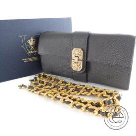 819ccc7dbd21 ADMJ Accessoires De Mademoiselle ADMJアクセソワ 14SS06006 スワロフスキーエレメンツ  アールデコチェーンウォレット 長財布(小銭