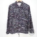 Supreme シュプリーム ×COMME des GARCONS SHIRTコムデギャルソンシャツ 反転バックロゴ ドット総柄 コーチ ジャケッ…