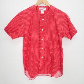 COMME des GARCONS SHIRT コムデギャルソンシャツ 【新品☆】 ×Supreme S4SS15 ベースボールシャツ トップス XS レッド メンズ 【中古】