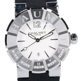 Chaumet ショーメ W17624-35A Class Oneクラスワン ダイヤモンドベゼル ミディアムモデル SS クォーツ 腕時計 シルバー レディース 【中古】