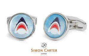 カフス ブランド サイモンカーター Simon Carter shark シャーク サメ ギフト プレゼント【アクセサリー】送料無料