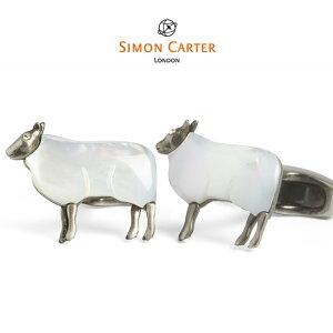 カフス ブランド サイモンカーター ギフト プレゼント Simon Carter sheep シープ 羊