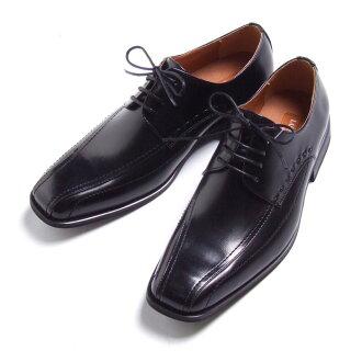 商務鞋合成皮革LASSU&FRISS BRONZE LABEL 933帶型黑(黑色)24.5cm~27cm