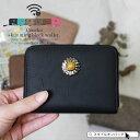 【送料無料】コインケース レディース ミニ 財布 小型財布 ラウンドファスナー ウエスタン コンチョ ボタン 小銭入れ …