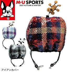 2021年 秋冬 新作 M・U SPORTS MUスポーツ ヘッドカバー アイアンカバー キャラクター レディース MU21AW 新生活 プレゼント