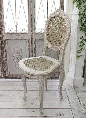 アンティークな木製チェア椅子【BlancMaricloブランマリクロ】イタリア直輸入ドールチェア小型シャビーシックアンティーク風アンティーク雑貨フレンチカントリー姫系antique
