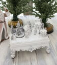 クリスマス置物 (LEDビレッジオンテーブル 置物)アンティーク風 シャビーシック 北欧 フレンチ ロマンティック 可愛い クリス…