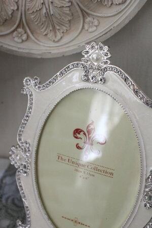 アンティーク風・雑貨(ジュエルフォト001)写真立てフォトフレーム可愛いシャビーシックフレンチカントリーアンティーク雑貨姫系輸入雑貨antiqueshabbychic