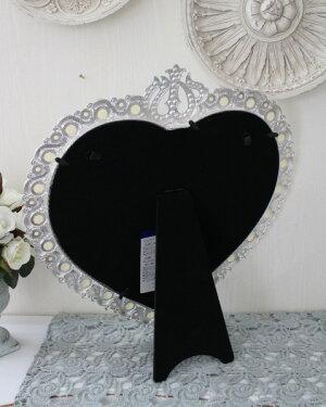 アンティーク風・雑貨(ジュエルミラー003)卓上ミラー壁掛けミラー鏡可愛いシャビーシックフレンチカントリーアンティーク雑貨姫系輸入雑貨antiqueshabbychic