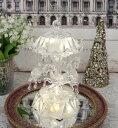 クリスマス 置物 アクリル LED カルーセルオルゴール 8475 アンティーク風 シャビーシック 北欧 フレンチ ロマンティック 可愛い…
