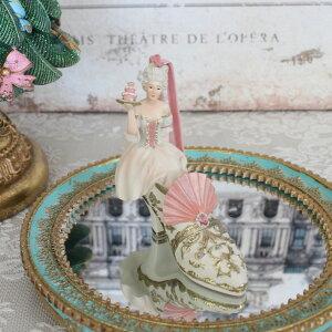 フェアリー ハイヒールオーナメント 8550 クリスマス 飾り 置物 オブジェ ヨーロピアン アンティーク風 アンティーク 雑貨 姫系 輸入雑貨 シャビーシック 可愛い