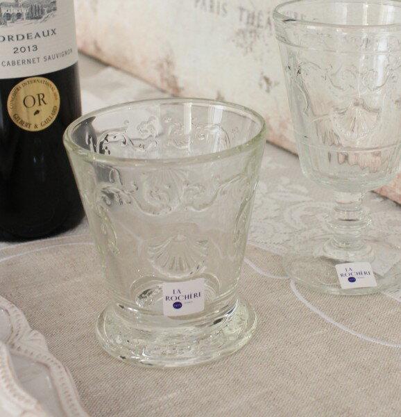 【La Rochere】 フランス ラロシェール社製 エレガントに輝くゴブレット250cc タンブラー ヴェルサイユ ウォーターグラス ガラス食器 フランス製