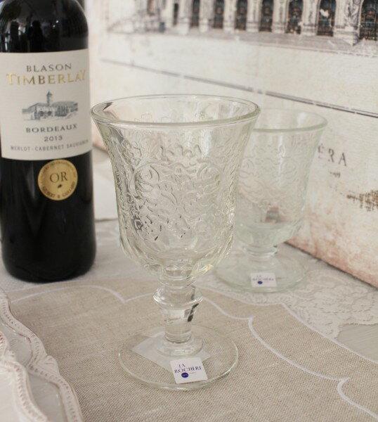 【La Rochere】 フランス ラロシェール社製 エレガントに輝くワイングラス260cc アンボワーズ アンポワーズ ウォーターグラス ガラス食器 フランス製