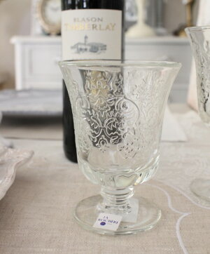 【LaRochere】フランスのラロシェール社製エレガントに輝くゴブレットアンボワーズウォーターグラスガラス食器
