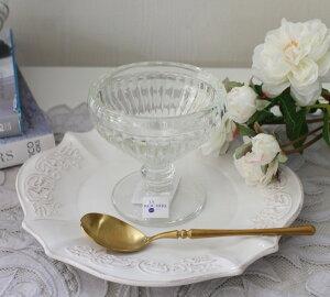 【LaRochere】フランスラロシェール社製エレガントに輝くクープ【カナリー・130cc】デザート皿デザートカップアイスカップガラス食器