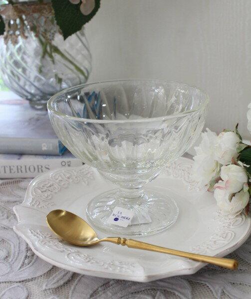 【La Rochere】 フランス ラロシェール社製 エレガントに輝くクープ【エリーゼ・400cc】 デザート皿 デザートカップ アイスカップ ガラス食器 フランス製
