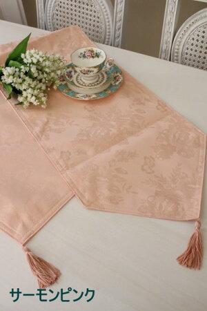☆大人気☆シャインローズ撥水テーブルランナーLサイズ32×180薔薇レターパックOKテーブルランナーテーブルセンター