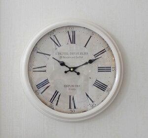 アンティーク風掛け時計(PARIS1969・023WC)アンティーク雑貨掛け時計ウォールクロックアンティーク風シャビーシックantique