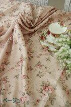 【全品8%引き中】☆大人気☆エレガントローズ撥水テーブルクロス135×240薔薇はっ水マルチクロスレターパックOK
