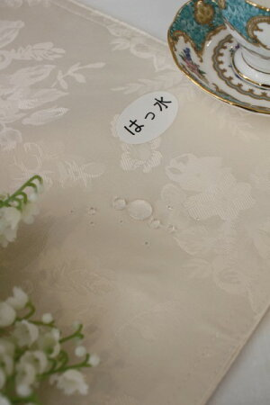 ☆大人気☆シャインローズ撥水トップクロス100×100薔薇ネコポス便OKはっ水テーブルクロスフリークロス