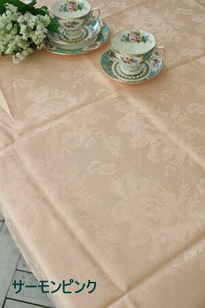 ☆大人気☆シャインローズ撥水テーブルクロス135×180はっ水薔薇ネコポス便OK