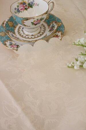 ☆大人気☆シャインローズ撥水テーブルクロス135×240薔薇はっ水レターパックOK