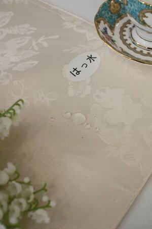 【全品P14倍中】☆大人気☆シャインローズ撥水ティーマット薔薇ネコポス便OKはっ水アイボリーピンク