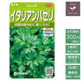 野菜の種 実咲ハーブ8070 ハーブ イタリアンパセリ