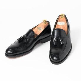 Cordwainer   コードウェイナー 18520 ビジネスシューズ ビジネス 紳士 小さいサイズ 大きいサイズ 本革 皮靴 靴 通気性 送料無料 交換無料 スリッポン レザー グッドイヤーウェルト スペイン製 黒 ブラックボックスカーフ×レザーソール タッセル メンズ ローファー