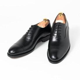Cordwainer   コードウェイナー ASIER ビジネスシューズ ビジネス 紳士 小さいサイズ 大きいサイズ 本革 皮靴 靴 内羽根 通気性 送料無料 交換無料 グッドイヤーウェルト 黒 ブラック スペイン製 ブラックボックスカーフ×レザーソール メンズ ストレートチップ