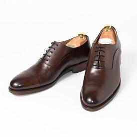 Cordwainer   コードウェイナー ASIER ビジネスシューズ ビジネス 紳士 小さいサイズ 大きいサイズ 本革 皮靴 靴 内羽根 通気性 送料無料 交換無料 グッドイヤーウェルト 茶 ダークブラウン スペイン製 ブラウン ボックスカーフ×レザーソール メンズ ストレートチップ