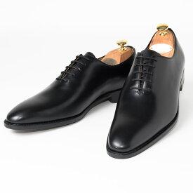 Cordwainer   コードウェイナー BOND ビジネスシューズ ビジネス 紳士 小さいサイズ 大きいサイズ 本革 皮靴 靴 通気性 送料無料 交換無料 ホールカット グッドイヤーウェルト ブラック 黒 スペイン製 ブラックボックスカーフ× レザーソール メンズ ホールカット
