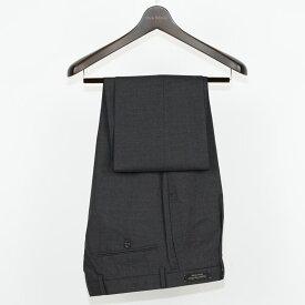 Style Edition | スタイルエディション SuperFine ウール ビジネス スラックス 春夏 大きいサイズ 小さいサイズ ドレス パンツ グレー ウールパンツ ウール100% 無地 チャコール チャコールグレー ワンタック メンズ スラックス