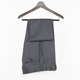 Style Edition | スタイルエディション Super100's ビジネス スラックス 秋冬 大きいサイズ 小さいサイズ ドレス パンツ ウールパンツ ウール100% ウール 無地 エクストラウール グレー メンズ スラックス
