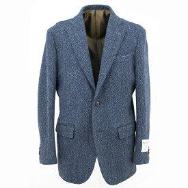 Style Edition | スタイルエディション Harris Tweed ハリスツイード ツイード ツイードジャケット カジュアル ビジネス テーラード テーラードジャケット ブレザー ドレス パーティー 大きいサイズ 小さいサイズ 秋冬 ブルー ヘリンボーン メンズ ジャケット