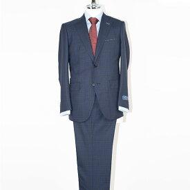 Style Edition | スタイルエディション 送料無料 Ermenegildo Zegna エルメネジルド ゼニア 紺 COOL EFFECT 送料無料 ビジネススーツ ビジネス スリム セレモニー 結婚式 おしゃれ イタリア ウール ウール100% 春夏 ネイビー チェック メンズ スーツ
